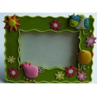 Buy cheap New Eco-friendly,non-toxic material Pvc. rubber, silicone products photo frame from wholesalers