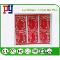 Buy cheap Red Solder Mask Electronic Circuit Board Assembly , Double Sided Pcb Board 2oz from wholesalers
