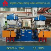 Wholesale Vacuum rubber molding press machine, Rubber plate hydraulic vulcanizer from china suppliers