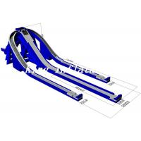 Buy cheap 15m High Blue Outdoor Giant Inflatable Water Slide For Sale / Trippo Slide from wholesalers