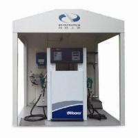 Buy cheap Daughter and Mobile CNG Fuel Station with 1 Set Compressor and 2 Sets Dual-gun Dispenser from wholesalers