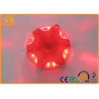 LED Portable Hazard Traffic Warning Lights with 16 Super bright LED TPE PC Material