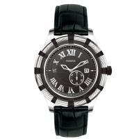 China Genuine Leather Stainless Steel Automatic Watch , Steel Strap Watch on sale