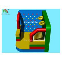 Buy cheap Colorful Inflatable Outdoor Sports Games Football Dart Climbing Wall Basket Shooting Movie Screen from wholesalers