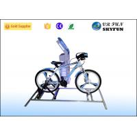 Wholesale 1 Seat Adult 9D Virtual Reality Bike Simulator VR Racing Bike For Gym Equipment from china suppliers