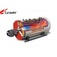 Buy cheap 0.7MW Rated Oil Fired Hot Water Boiler , Oil Hot Water Heater Atmospheric Pressure from wholesalers