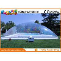 Buy cheap PVC Transparent Inflatable Pool Cover Tent Swimming Pool Cover Shelter from wholesalers