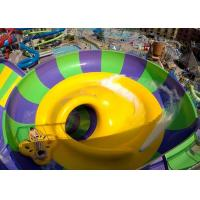 Buy cheap Indoor Or Outdoor Swimming Pool Water Slides Super Bowl For 2 People from wholesalers