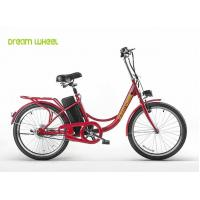 Buy cheap Cruiser style Pedal Assist Electric Bike 8-12Ah lead acid battery steel frame from wholesalers