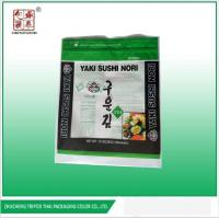 Buy cheap Transparent printing exported to Korea sushi nori packaging bag from wholesalers