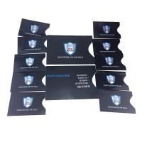 Buy cheap Package In Sets RFID Blocking Card Sleeve 10 X Credit Card Protector 2 X Passport Holder from wholesalers