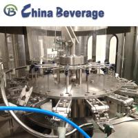 Buy cheap 3 in 1 Automatic Juice Filling Machinery 6000BPH hot filling line from wholesalers