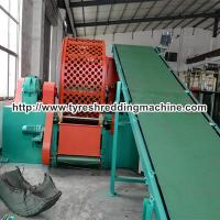 Wholesale Flooring Rubber Granulation Machine 20 Mesh - 80 Mesh Shaft Speed 19rpm from china suppliers
