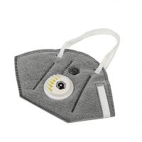 Buy cheap Grey Color Valved Dust Mask Half Face Mask PM2.5 Air Purify Protective Mask from wholesalers