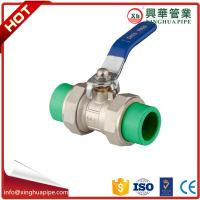 Buy cheap Water Control Brass Ball Valve Ppr Double Union Ball Cock Flange Connection from wholesalers