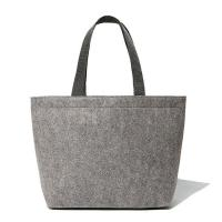 Buy cheap Popular Logo Printed Grey Felt Tote Bag / Personalized Grocery Tote Bags from wholesalers