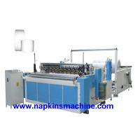 High Speed Fully Auto Paper Roll Rewinding Machine / Paper Slitter Machine Manufactures
