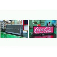 China 4G Taxi Cab Signs Taxi Led Sign High Reliability Low Power Consumption on sale