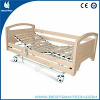 Buy cheap 3-Function Electric Adjustable Medical Beds With Side Rails For Home / Hospital from wholesalers