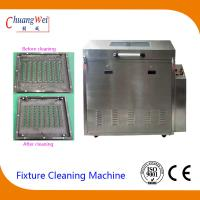 Rotate Spray Clean and Rinse Wave Solder pallet washing machine PLC procedure control Manufactures