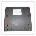Buy cheap Semi-metal Non asbestos brake lining WVA19033, brake parts,brake liner,brake from wholesalers