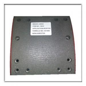 Wholesale high quality Non-asbestos brake lining WVA19033, brake parts,brake liner,brake blocks from china suppliers