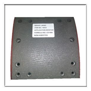Buy cheap Semi-metal Non asbestos brake lining WVA19033, brake parts,brake liner,brake blocks from wholesalers