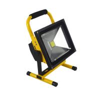 Wholesale Waterproof Outdoor Flood Lights / 30 Watt Rechargeable LED Floodlight With Lithium Battery from china suppliers