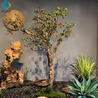 Wholesale 2m Height Artificial Berry Tree , Artificial Pomegranate Tree For Thanksgiving Christmas from china suppliers