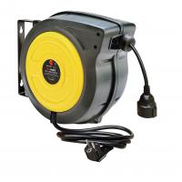 Buy cheap Impact Resistant Polypropylene 15m / 20m Electric Cable Reel Black / Yellow from wholesalers