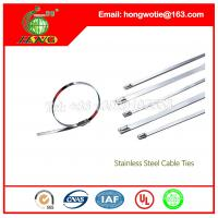 Buy cheap #302,#304, #316 Ball Lock Stainless Steel Cable Tie, Mounted Head Cable Ties for Heavy Ind from wholesalers