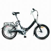 Buy cheap Foldable Electric Bicycle with 20-inch Wheel and Lithium Battery, Auto Control Charge System from wholesalers