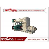 Wholesale Reamer Soild Clay Brick Making Machine , Clay Brick Extruder MachineLarge Output from china suppliers