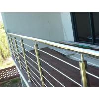 Buy cheap Outside Metal Rods For Deck Railing , Stainless Steel Balustrade Decoration from wholesalers