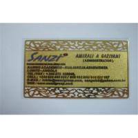 Buy cheap Metal card ,metal card supplier ,metal gift card,china metal card ,gold card from wholesalers