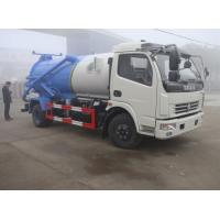 Buy cheap hot sale cheapest dongfeng duolika 4*2 LHD/RHD 6m3 sewage vacuum truck, 2017s new 6,000Liters sludge tank truck from wholesalers