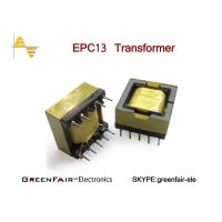 Buy cheap Single Ferrite Core Horizontal Small High Voltage Transformer High Frequency EPC13 from wholesalers