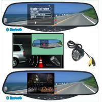 Buy cheap Car Electronics Products Tft Bluetooth Handsfree Kit Stereo Handsfree Rearview Mirror from wholesalers