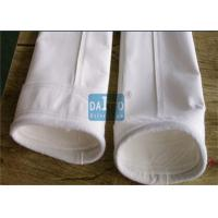 Buy cheap 450 - 550 G/SQM Polyester Filter Bag Sewing Process Method CE Certificated from wholesalers