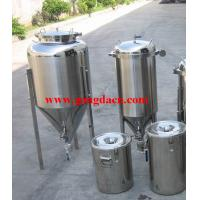 Jacketed conical beer fermenter Manufactures