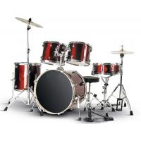 Wholesale Quality PVC series 5 drum set/drum kit OEM various color-A525P-801 from china suppliers