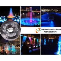 RGB 9W / 27W LED Underwater Fountain Lamp ,RF Controller  LED Underwater Pond Lights Manufactures