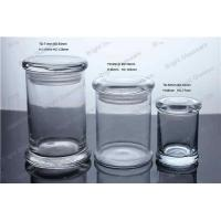 glass candle jar, candy jar, container for wax Manufactures