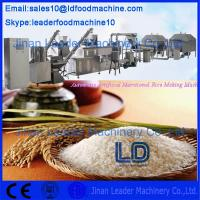 Buy cheap China Famous Brand 304 Stainless Steel Automatic Artificial Rice Extruder Machine from wholesalers