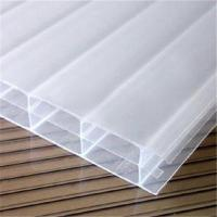 Buy cheap opal&white twin wall polycarbonate hollow sheet from wholesalers