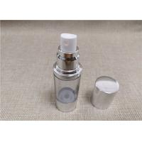 Buy cheap Vacuum Fancy Cosmetic Bottles Anti Bacterial Acrylic PP ABS Material from wholesalers