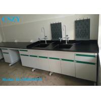 Buy cheap Steel Wood Lab Water Sink Bench Table For Biology Chemical Laboratory Furniture from wholesalers