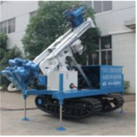Buy cheap Self - Walking Track Mounted Water Drilling Machine , Water Drilling Rig from wholesalers