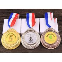 Buy cheap 65mm Diameter Kids Metal Medals , Personalized Metal Sports Souvenirs from wholesalers