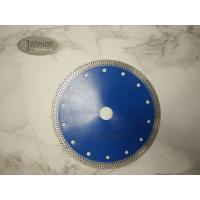 Buy cheap 180mm Sintered Diamond Ceramic Tile Saw Blades , Mesh Rim Turbo Saw Blade product